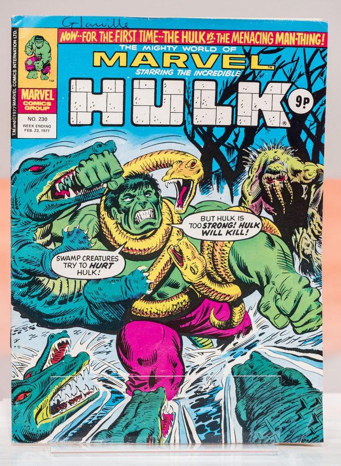 Hulk comic book