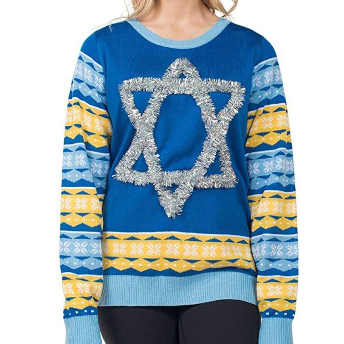 Tipsy Elves Ugly Hanukkah Sweaters