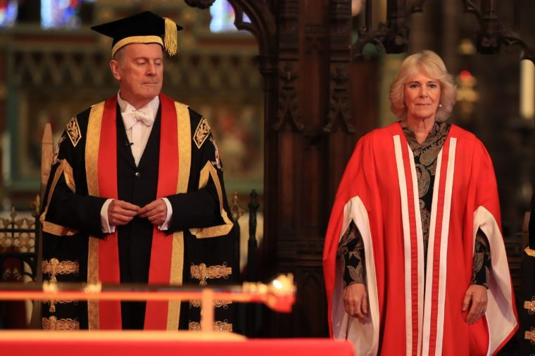 University of Chester graduation ceremony, UK