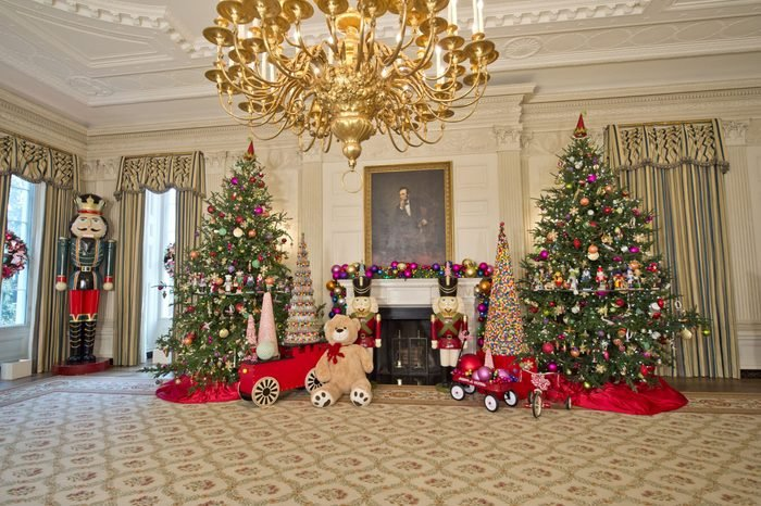 White House Christmas decorations unveiling, Washington, DC, America - 02 Dec 2015