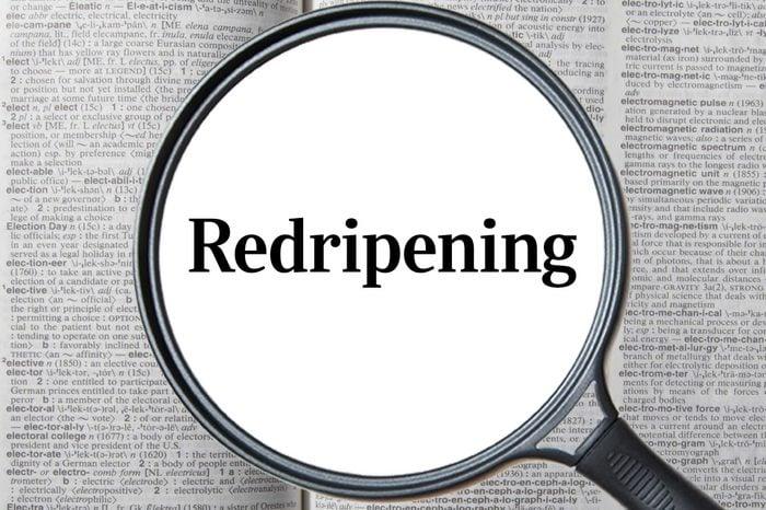redripening