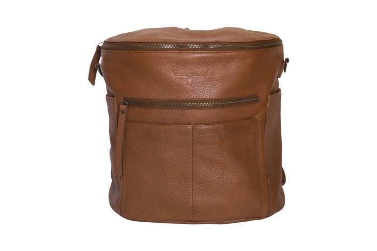 frankie camera butterscotch backpack