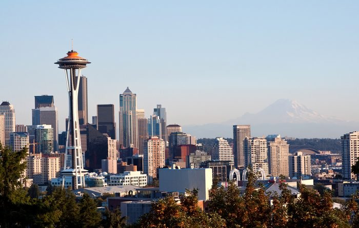 Seattle Downtown from Kerry Park viewpoint