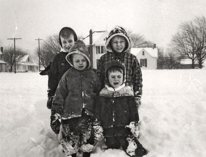 winter vintage photo