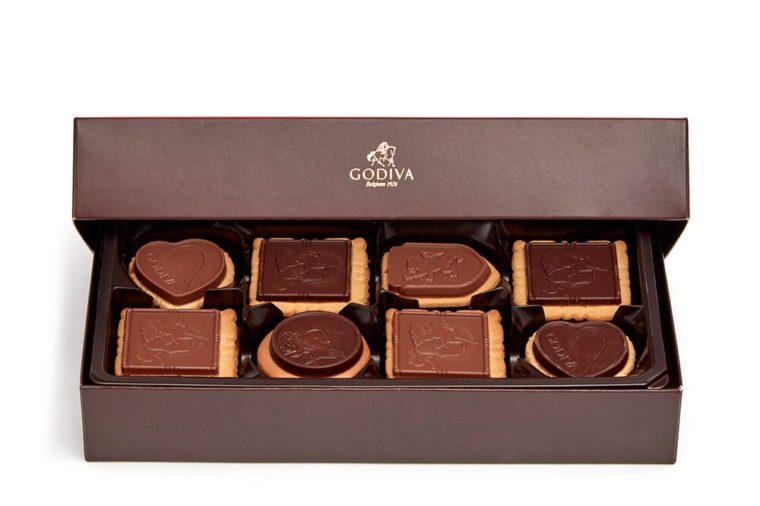 godiva chocolate box