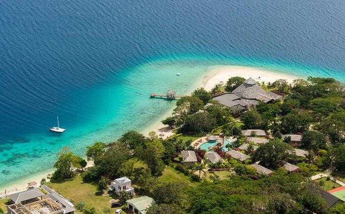 Beautiful Beach on Efate Island, Vanuatu