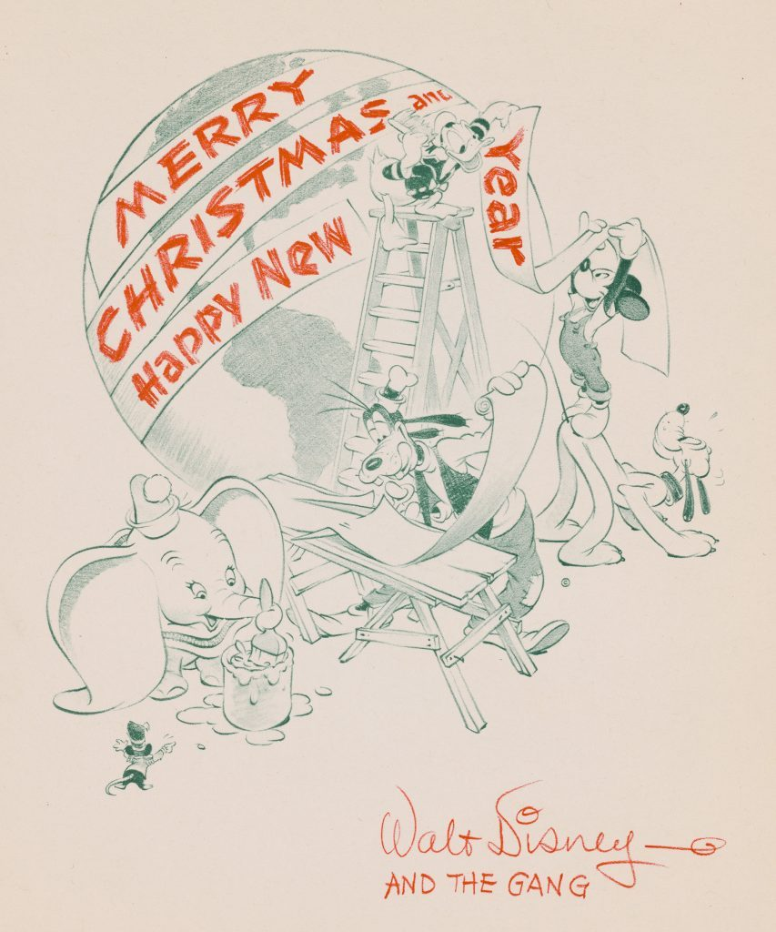 Vintage Disney Christmas Cards from Every Decade | Reader\'s Digest