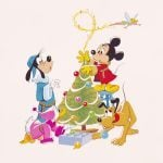 24 of the Best Vintage Disney Christmas Cards from Every Decade