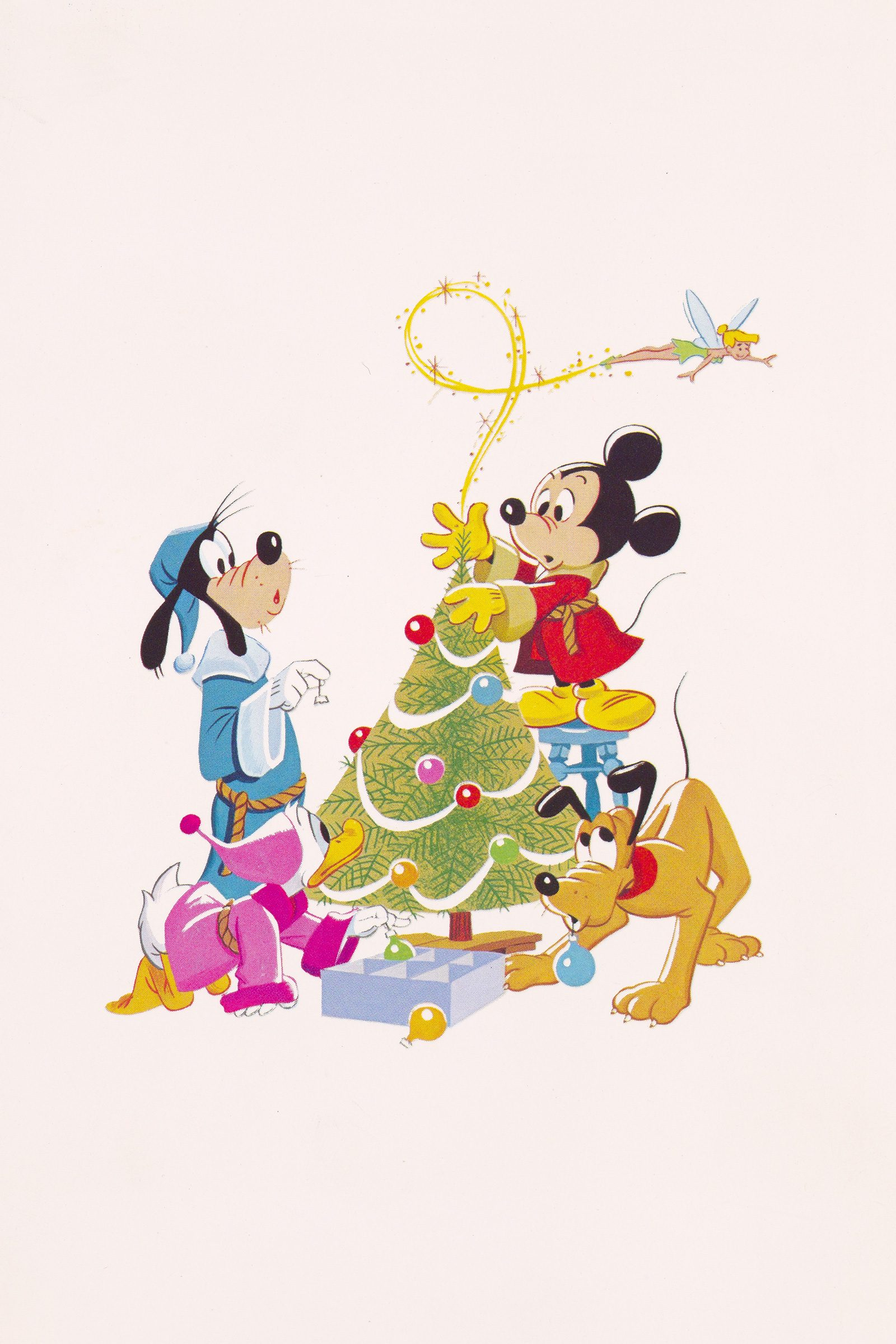 Best Christmas Cards.Vintage Disney Christmas Cards From Every Decade Reader S