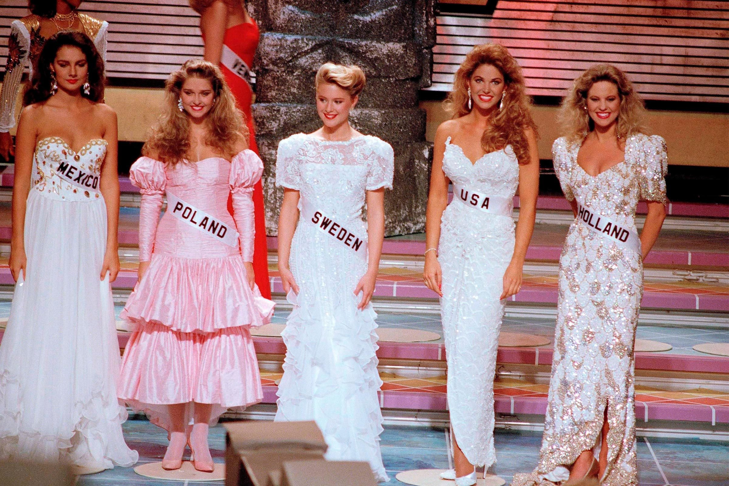1989 Miss Universe pageant finalists