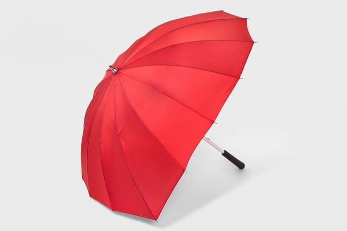 ShedRain Heart Shaped Stick Umbrella