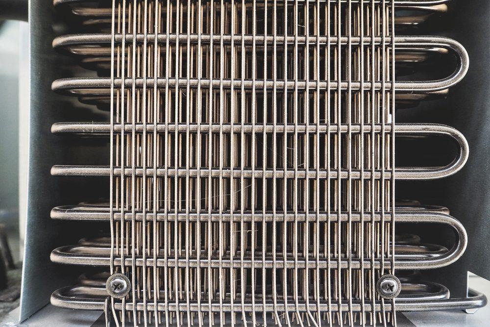 Texture of Refrigerator Condenser Coils