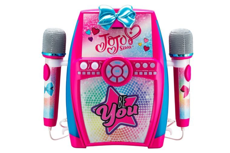 JoJo Siwa Be You Sing Along Boombox with Dual Microphones