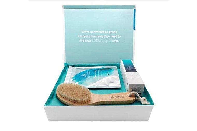 coconut dry brush kit