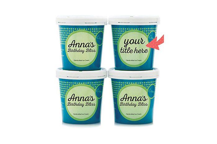 personalized ice cream