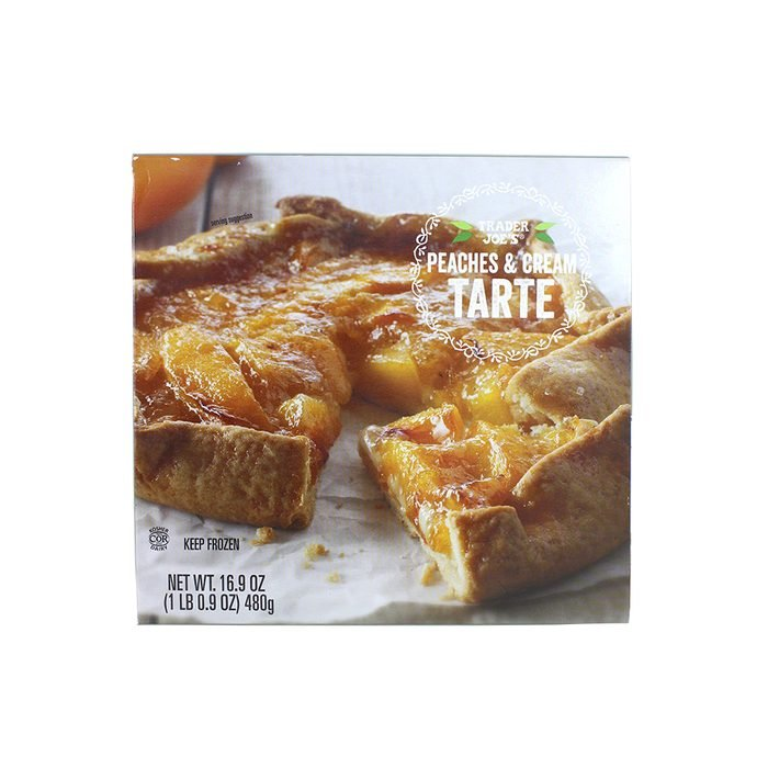 SEASONAL Peaches Cream Tarte
