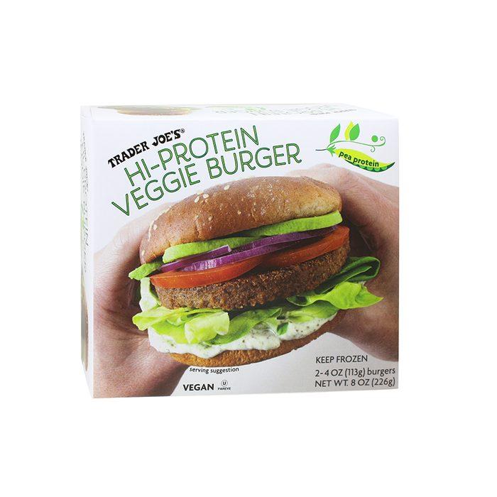 Hi Protein Veggie Burger