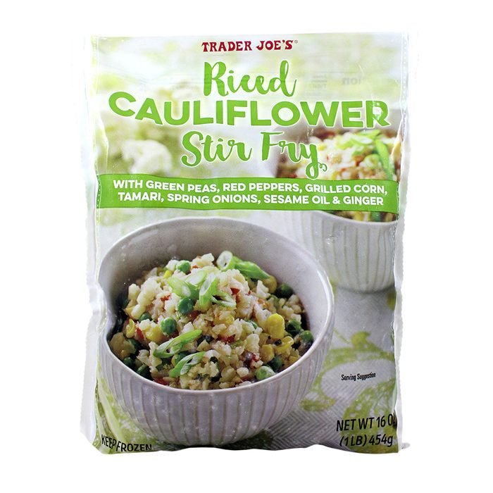 Riced Cauliflower Stir Fry