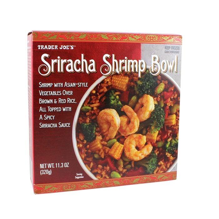 Sriracha Shrimp Bowl