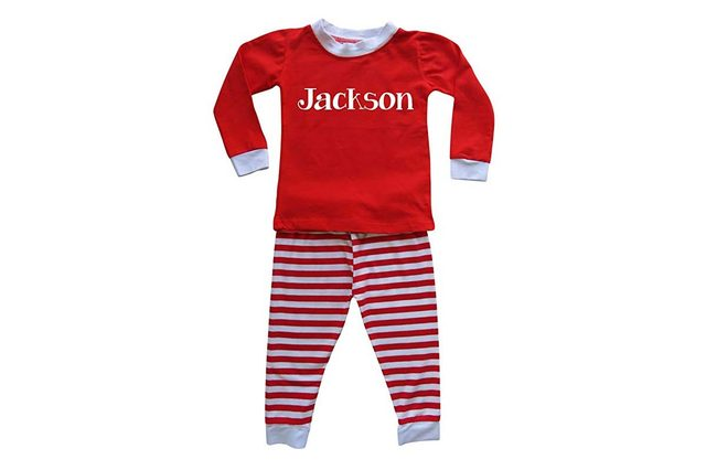 personalized pajamas
