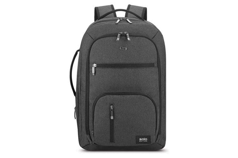 SOLO TSA carry on travel backpack