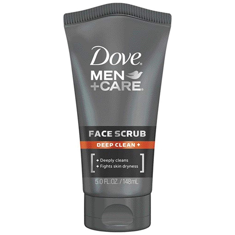 mens face scrub