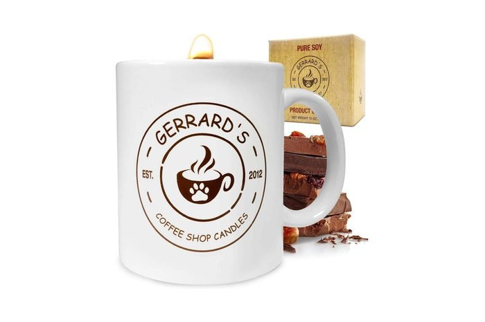 coffe mug candle