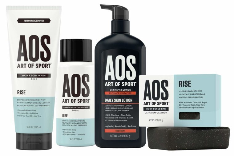 art of sport shower collection