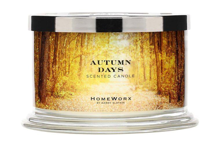 autumn days candle