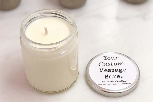 customized candle