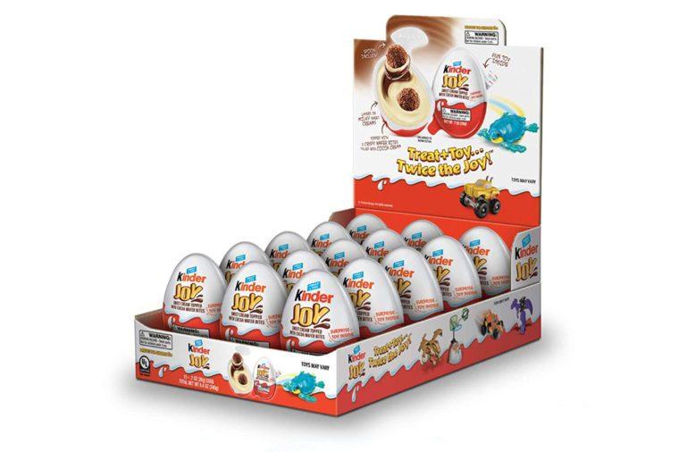 kinder joy egg stocking stuffers
