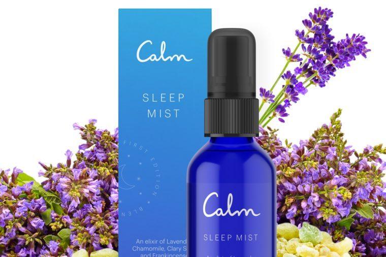 calm sleep mist
