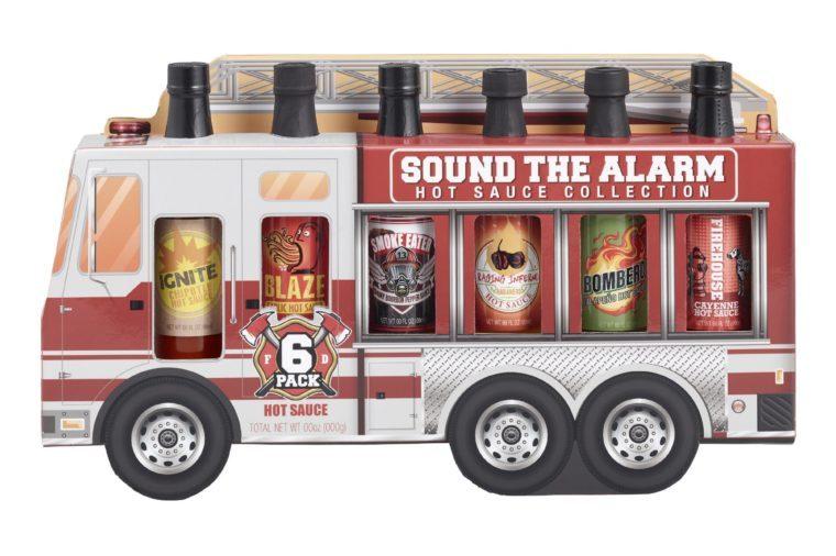 fire truck hot sauce