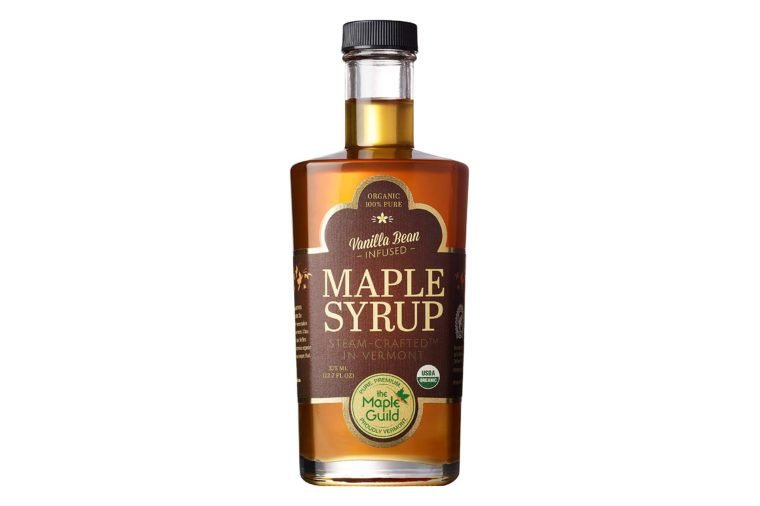 vanilla bean infused maple syrup