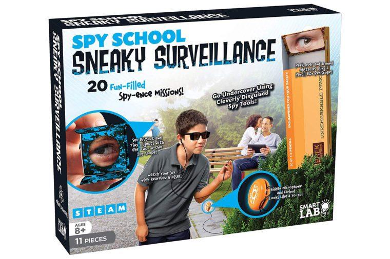 spy school sneaky surveillance kit