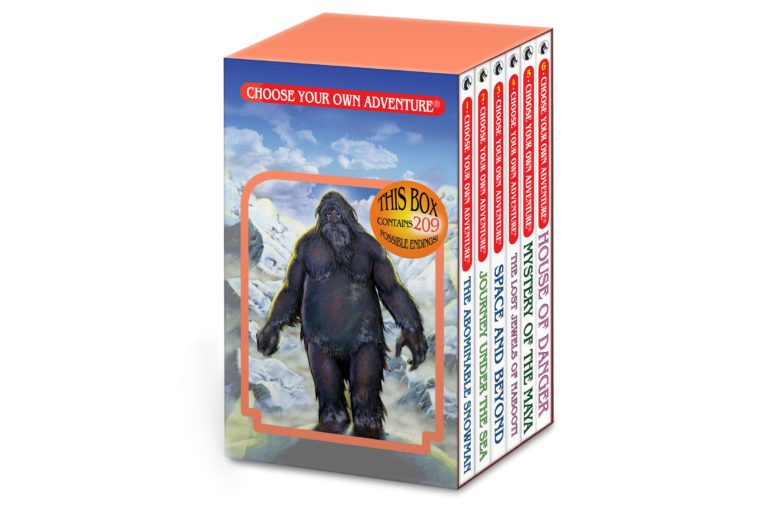 the abominable snowman gift set for boys