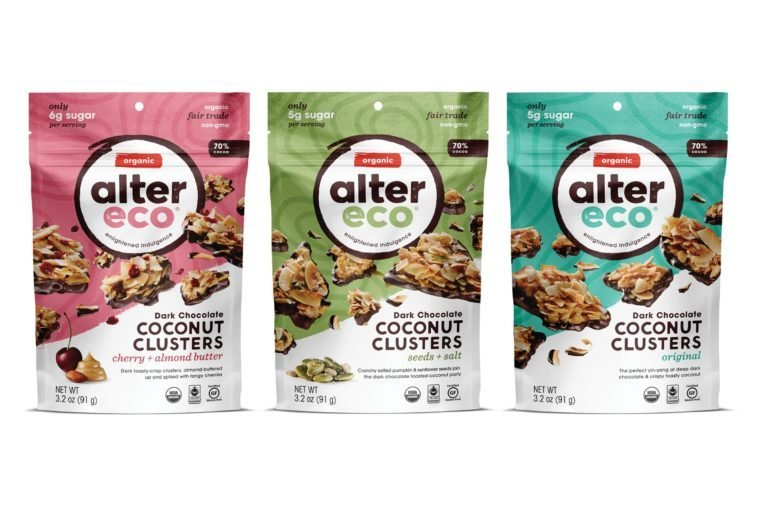 Alter Eco_Group-Dark-Chocolate-Coconut-Clusters