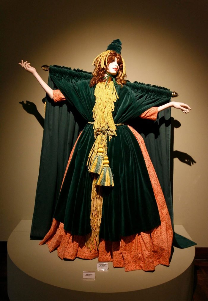 Carol Burnett Show dress designed by Bob Mackie