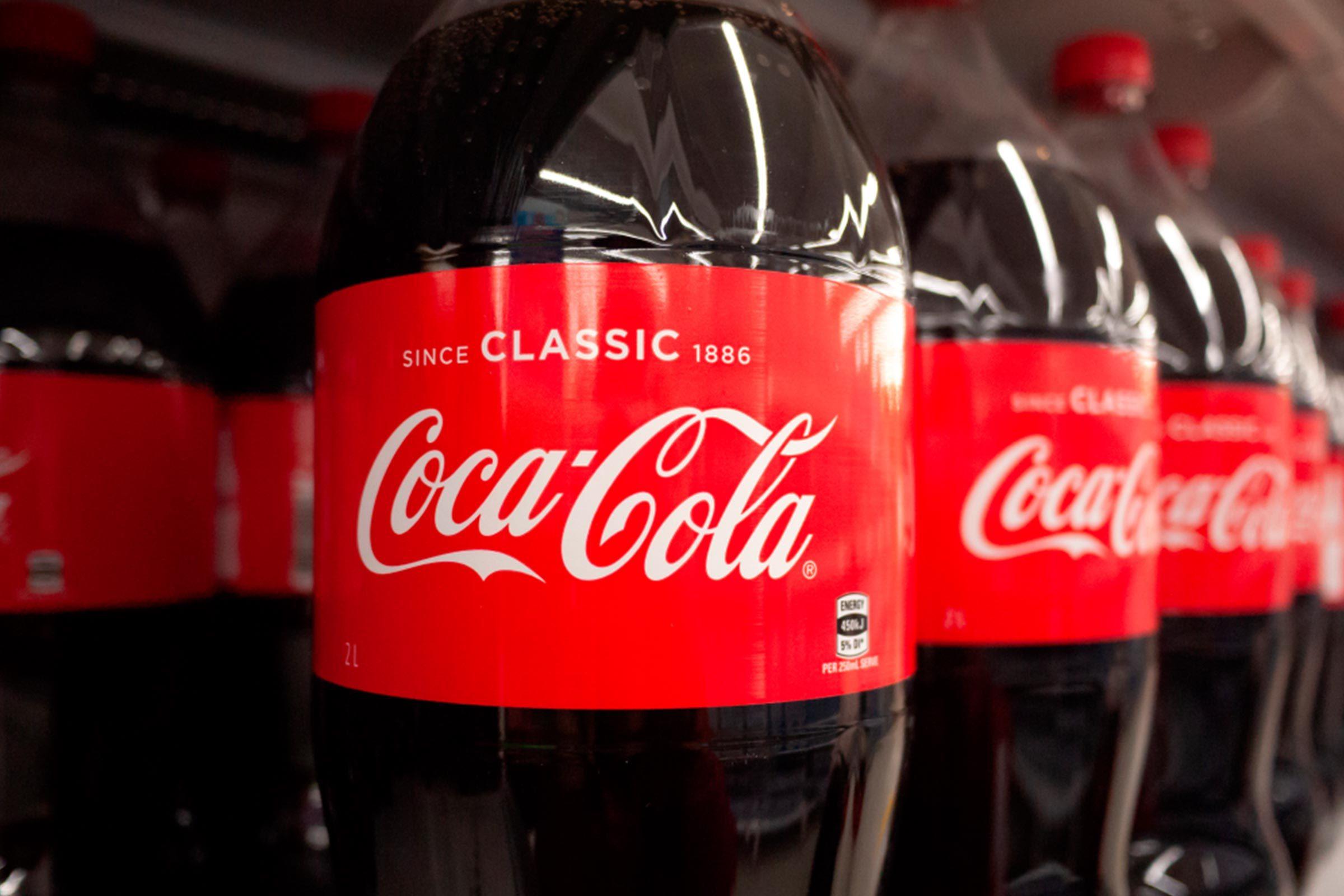 Coca-cola 2 liter bottle