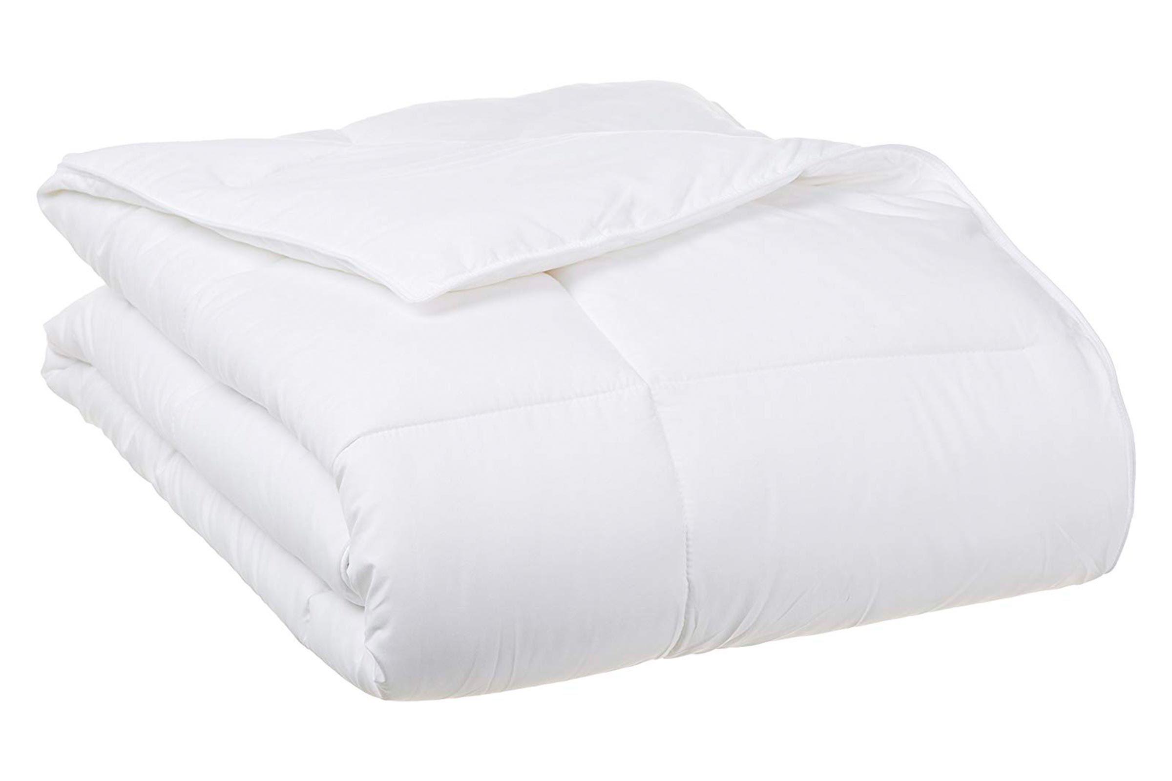 Down comforter