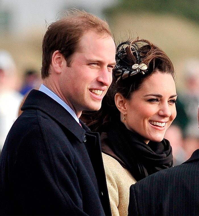 Duke and Duchess of Cambridge, 11th cousins once removed