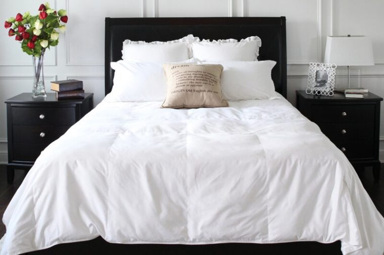 covermade easy bed making down comforter
