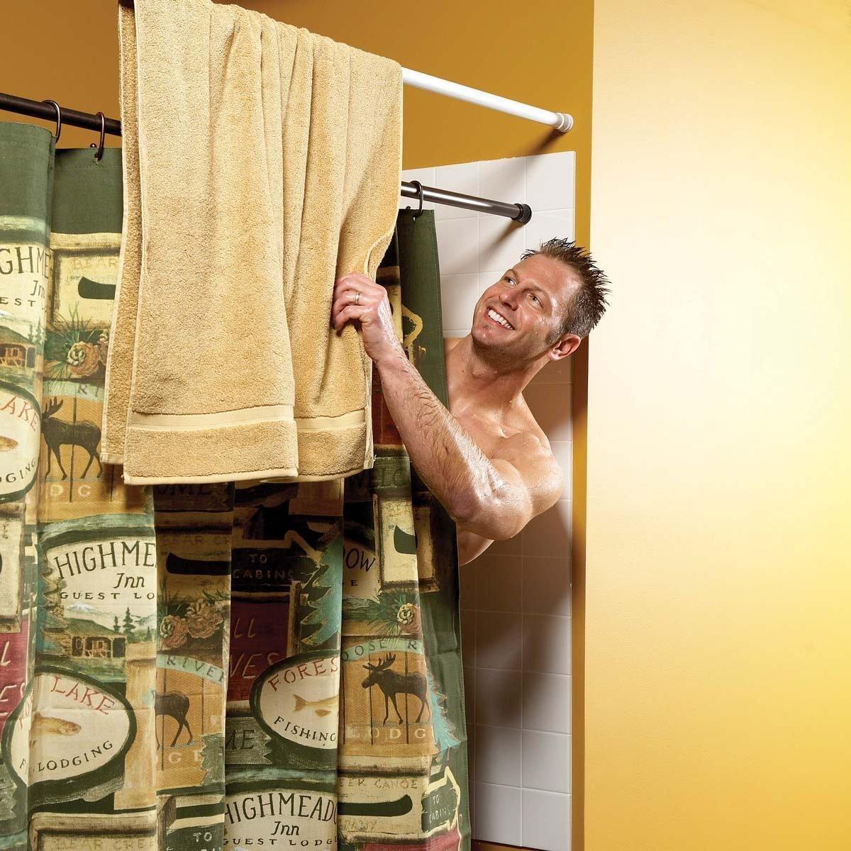 extra towel bar