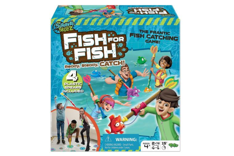 fish for fish fishing strike board game