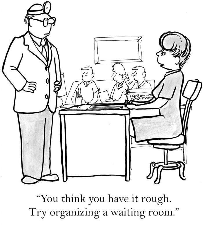 medical cartoon