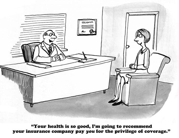 healthcare cartoon