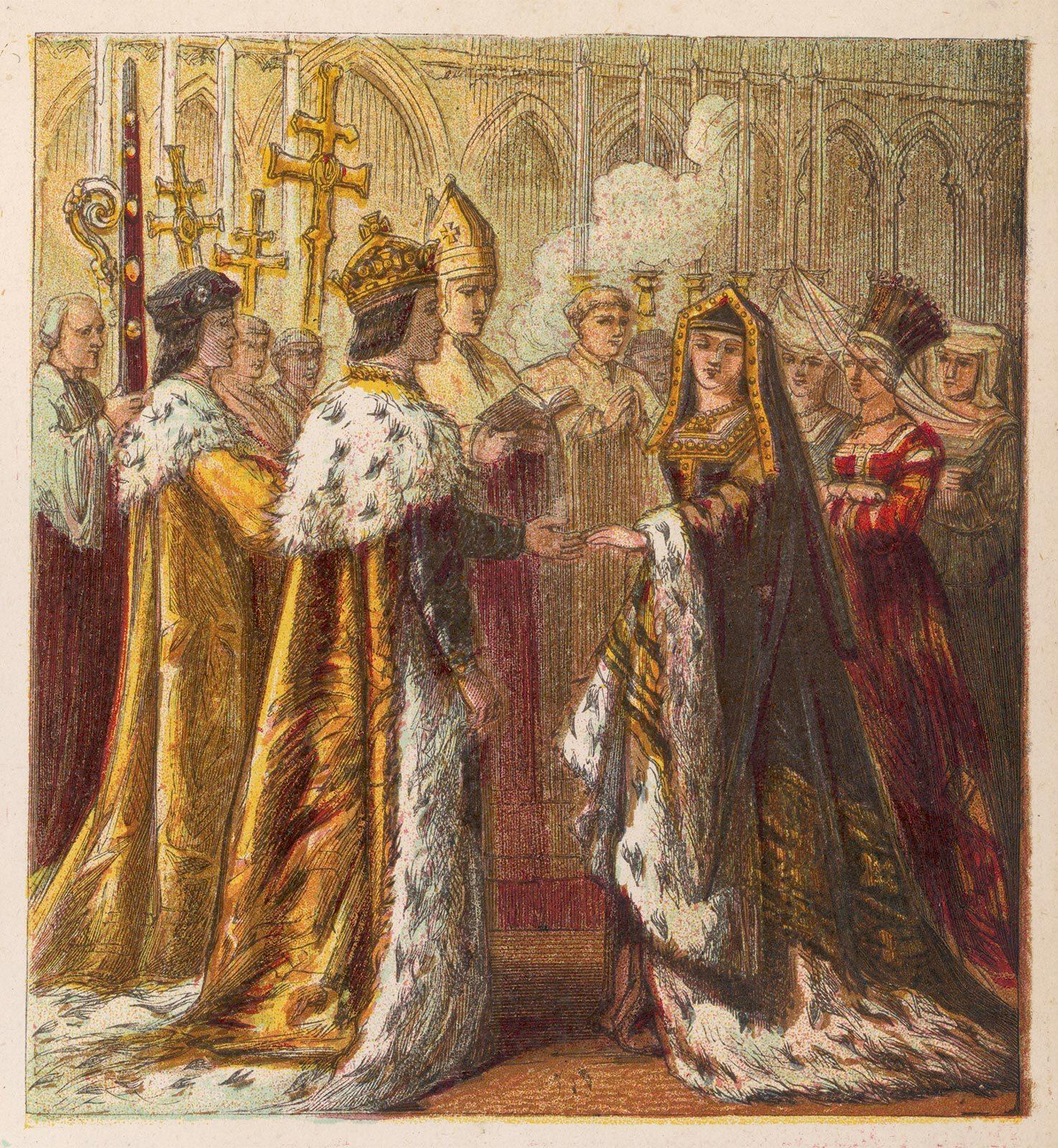 Henry VII and Elizabeth of York, 3rd cousins