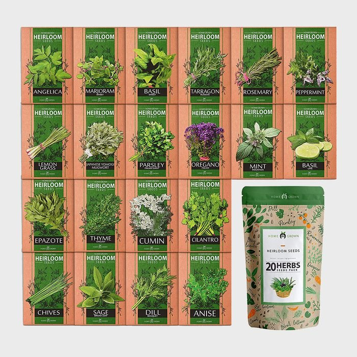Home Grown Culinary Herb Seed Vault