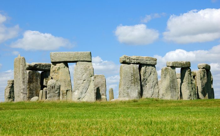 Stonehenge an ancient prehistoric monument in Wiltshire near Salisbury, England, UK.