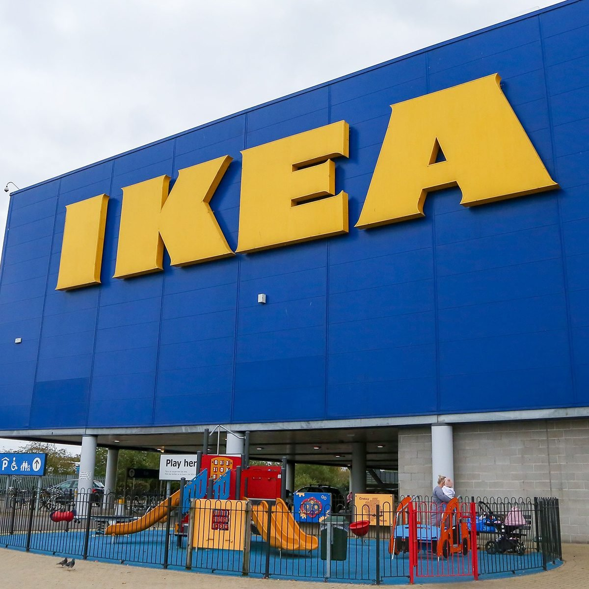 General view of Ikea store in Edmonton, North London